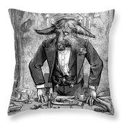 Nast: April Fools Day Throw Pillow