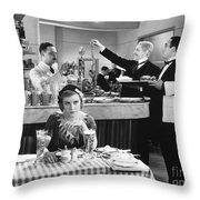 Nast: Future New York, 1881 Throw Pillow