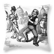 Nast: Papal Infallibility Throw Pillow