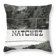 Natchez Throw Pillow