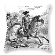Nathan Bedford Forrest (1821-1877) Throw Pillow