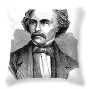 Nathaniel Hawhtorne Throw Pillow