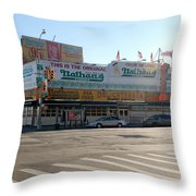 Nathan's Original Throw Pillow