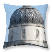National Gallery Cupola Throw Pillow