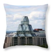 National Gallery Of Canada - Ottawa Throw Pillow