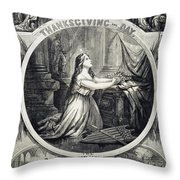 National Thanksgiving Throw Pillow