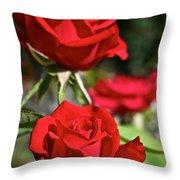National Trust Rose Throw Pillow