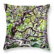Natural Abstract 3 Throw Pillow
