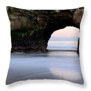 Natural Bridges Arch Throw Pillow