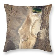 Natural-color Image Of The North End Throw Pillow