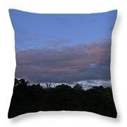 Natural Skyline Throw Pillow