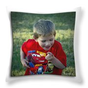 Nature Discovery Throw Pillow
