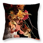 Nature In Autnmn II Throw Pillow