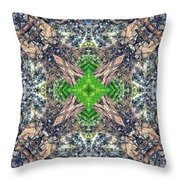 Nature Mandala Throw Pillow