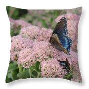 Nature Sharing Throw Pillow