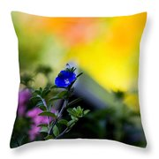 Nature Splash Throw Pillow