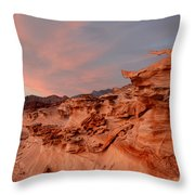 Natures Artistry At Little Finland Throw Pillow