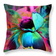 Nature's Beauty Throw Pillow by Doris Wood