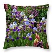 Natures Bouquet Throw Pillow