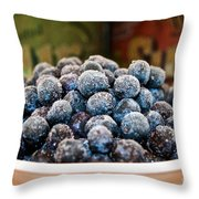 Nature's Candy Throw Pillow