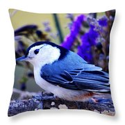 Nature's Charm... Throw Pillow
