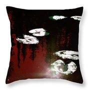 Nature's Pad Throw Pillow