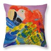 Nature's Painting Throw Pillow