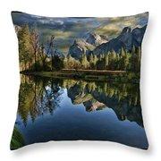 Natures Reflection Throw Pillow