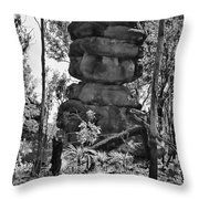 Nature's Statuette  Throw Pillow