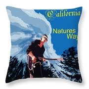 Natures Way 5 Throw Pillow