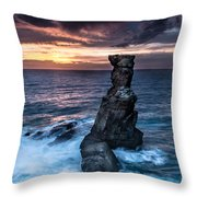 Nau Dos Corvos Throw Pillow
