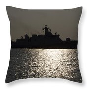 Naval Joint Operations V7 Throw Pillow