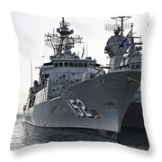 Naval Joint Ops V2 Throw Pillow