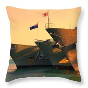 Naval Joint Ops V4 Throw Pillow