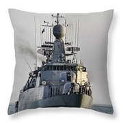 Naval Joint Ops V5 Throw Pillow