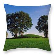 Navan Fort, Co Armagh, Ireland, Ancient Throw Pillow