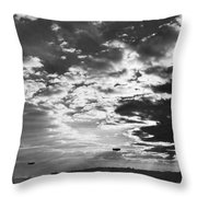 Navy Day In New York Throw Pillow