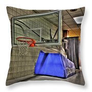 Nba Hoop Auburn Hills Mi Throw Pillow