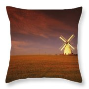 Near Newtownards, Co Down, Ireland Throw Pillow