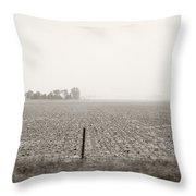 Nebraska Morning Throw Pillow