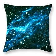 Nebulae In Cygnus Throw Pillow