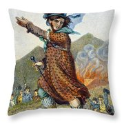 Ned Lud Throw Pillow