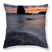 Needles Sundown Throw Pillow