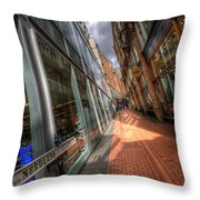 Needless Alley Throw Pillow