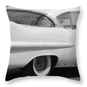 Needs Work In Black And White Throw Pillow
