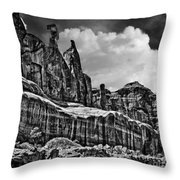 Nefertiti Arches National Park Throw Pillow