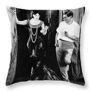 Negri And Lubitsch Throw Pillow