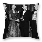 Nelson Algren (1909-1981) Throw Pillow