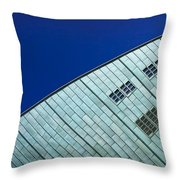 Nemo Science Center Throw Pillow