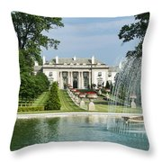 Nemours Mansion And Gardens Throw Pillow